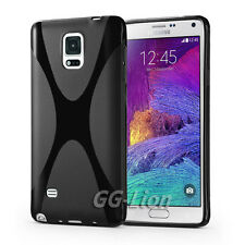 Gel Rubber TPU X-Line Silicone Case Cover Skin For Samsung Galaxy Note 4, N910