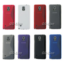 S-Line Silicone TPU Rubber Case Cover Skin For Samsung Galaxy Note 4, N910A AT&T