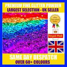 100G FINE GLITTER MATT IRIDESCENT HOLOGRAPHIC WINE GLASS CRAFT NAIL ART DUST