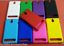 100% Brand New Hard Back Shell Cover Case for Sony Xperia E1 Dual