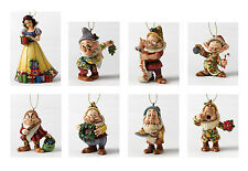 Disney Traditions Snow White and Seven Dwarfs Hanging Figurines Jim Shore - New