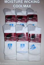 2 OR 6 Pairs Mens COOLMAX Ultimate Cushioned Arch Support Thicker Work Crew