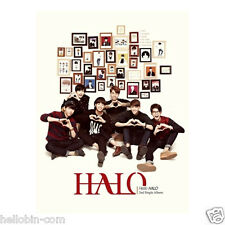 HALO - HELLO HALO (2nd Single Album) (1CD + Post Card + Gift Photo) + Poster