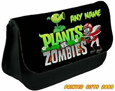 PLANTS VS ZOMBIES 2 Personalised Pencil Case / Make up bag