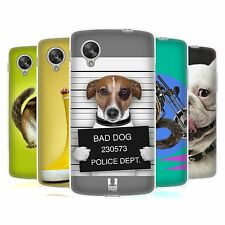 HEAD CASE FUNNY ANIMALS GEL BACK CASE COVER FOR LG GOOGLE NEXUS 5 D820