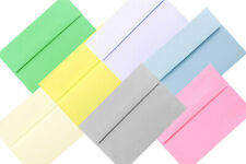 Baby Pink Pastel Envelopes A1 A2 A6 A7 for Invitations Responses Blue Gray More