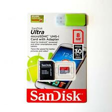NEW Sandisk Mobile Ultra 8GB 16GB 32GB 64GB Micro SD Class 10 Memory Card Retail