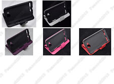 Multi Color Leather Cover Flip Case HOLDER WALLET For Samsung Galaxy ATIV S