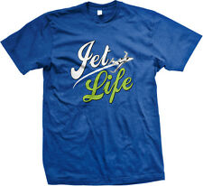 Jet Life Fly Swag Funny Sayings  Mens T-shirt