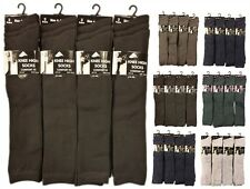 6 Pairs Of Ladies Girls Knee High Socks, Long School Socks, Many Sizes & Colours