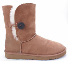 NIB Women's UGG BAILEY BUTTON  Size 8 CHESTNUT Boots - 5803