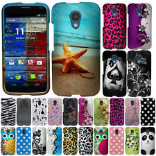 For Motorola Moto G 2014 Case Accessory HARD Cover Protector Hawaiian Flowers