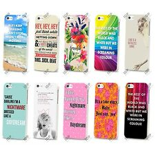NEW TAYLOR SWIFT LYRICS POP MUSIC 2014 HARD CASE COVER FOR APPLE IPHONE 4 5 5S