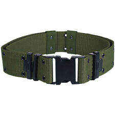 US ARMY TACTICAL LC-2 PISTOL BELT MILITARY ALICE SYSTEM WEBBING LC2 OLIVE GREEN