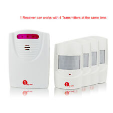 1Byone PIR Driveway Patrol Infrared Wireless Home Security Alert Alarm System