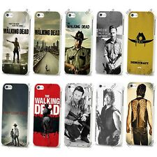 NEW THE WALKING DEAD TV SERIES ZOMBIES HARD CASE COVER FOR APPLE IPHONE 4 5 5S