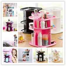 Colors Rotary Make-up Storage Box Cosmetic Beauty Skin Care Product Display LJ
