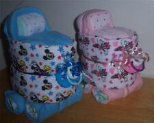 Mickey Mouse or Minnie Mouse Mini Diaper Bassinet, Baby Shower Favor