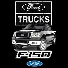 Licensed Ford F-150 Truck T-Shirt Car Logo Tee Sizes Youth - 6XL Adult