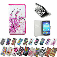 PU Leather Wallet Card Holder Flip Case Cover For Samsung Galaxy S4 SIV i9500