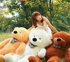 New Big Stuffed Plush Teddy Bear Soft Doll Toy S0401-5 Colors, 8 Sizes
