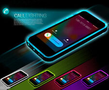 TPU Incoming Call LED Blink Transparent Back Case Cover iPhone 6 4.7 Plus 5 5S G