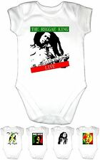 RASTA RAGGAE Music Baby Grow Gro Vest Body Suit Clothes Shirt Boys Girls Gift