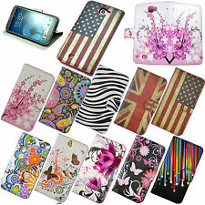 Luxury Protective Flip Leather PU Case Cover For Samsung Galaxy Note2 II N7100