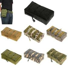 Tactical MOLLE PALS Modular Utility Pouch Magazine Bag Accessory Medic Tool Bag