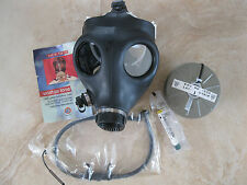 New GAS MASK personal + Sealed Filter & Drink Tube