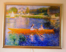 """Heater. InfraRed Radiant Electric heating Panel. """"Boating On the Seine"""" Renoir."""
