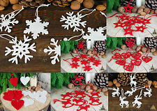 SETS OF FELT CHRISTMAS/VALENTINE/WEDDING DECORATIONS & GARLANDS,Lots of Choices