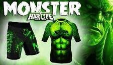 Monster High Type MMA Rash Guard Grappling Cage Fighting Judo Kickboxing