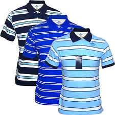 new Mens Polo Shirts man t shirts Cotton men's shirts Short Sleeve Striped blue