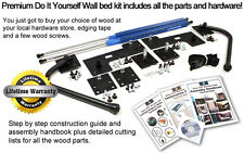 DIY Murphy Bed Hardware or Wall Bed Hardware Kit for All Popular Mattress Sizes