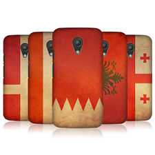 HEAD CASE DESIGNS VINTAGE FLAGS SET 6 CASE FOR MOTOROLA MOTO G 2ND GEN