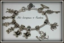 Charm Sliders for European Style Bracelet or Necklace