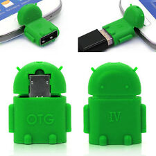 Portable Micro USB Host OTG Adapter For Samsung HTC LG Android Mobile Phone