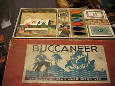 FIRST EDITION 1930s WADDINGTONS BUCCANEER BOARD GAME SPARE PARTS