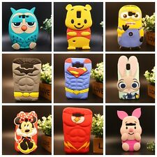FOR SAMSUNG GALAXY Cute 3D Cartoon US Hero Soft Silicone Rubber Case Cover Skin