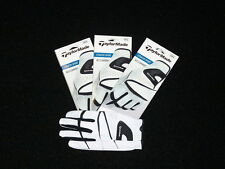 Brand New 3-Pak TaylorMade Stratus Sport Golf Glove!  Premium Leather! Great Fit