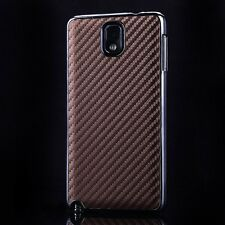 Luxury Ultra Thin Carbon Fiber Back Case Cover For Samsung Galaxy Note III N9000