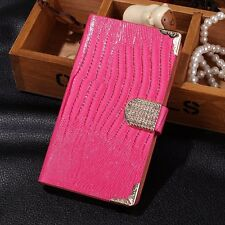 Bling Luxury Leather Flip Wallet Case Cover For Samsung Galaxy Note III 3 N9000