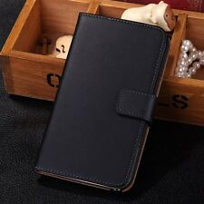 Luxury Genuine Real Leather Flip Case Cover For Samsung Galaxy Note II 2 N7100