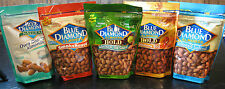 BLUE DIAMOND ALMONDS -1 LB. VALUE PACK- ASSORTED FLAVORS- BRAND NEW SEALED PKGS.