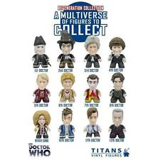 "DOCTOR WHO: TITANS REGENERATION COLLECTION 3"" VINYL FIGURE titan series dunny"