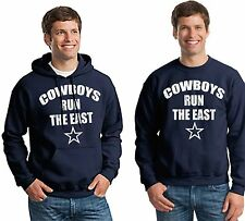 Dallas Cowboys Men NFL Fan Sweatshirt and Hoodie Navy Cowboys Run The East