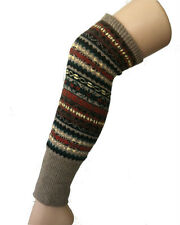 Knit Wool Leg Warmer