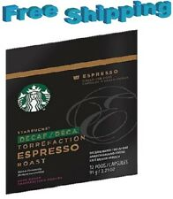 Starbucks Verismo Coffee Pods ESPRESSO DECAF  You Pick The Size FREE SHIPPING