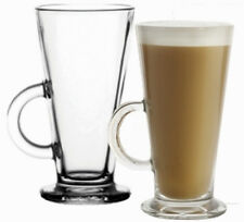 Set Of Tall Latte Glasses For Coffee, Cappachino, Hot Chocolate, 250ml, Costa